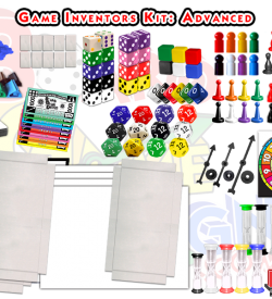 Game Inventors Kit (Advanced) hundreds of pieces!