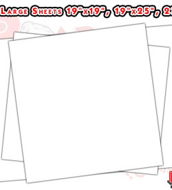 Large Blank Paper Sheets
